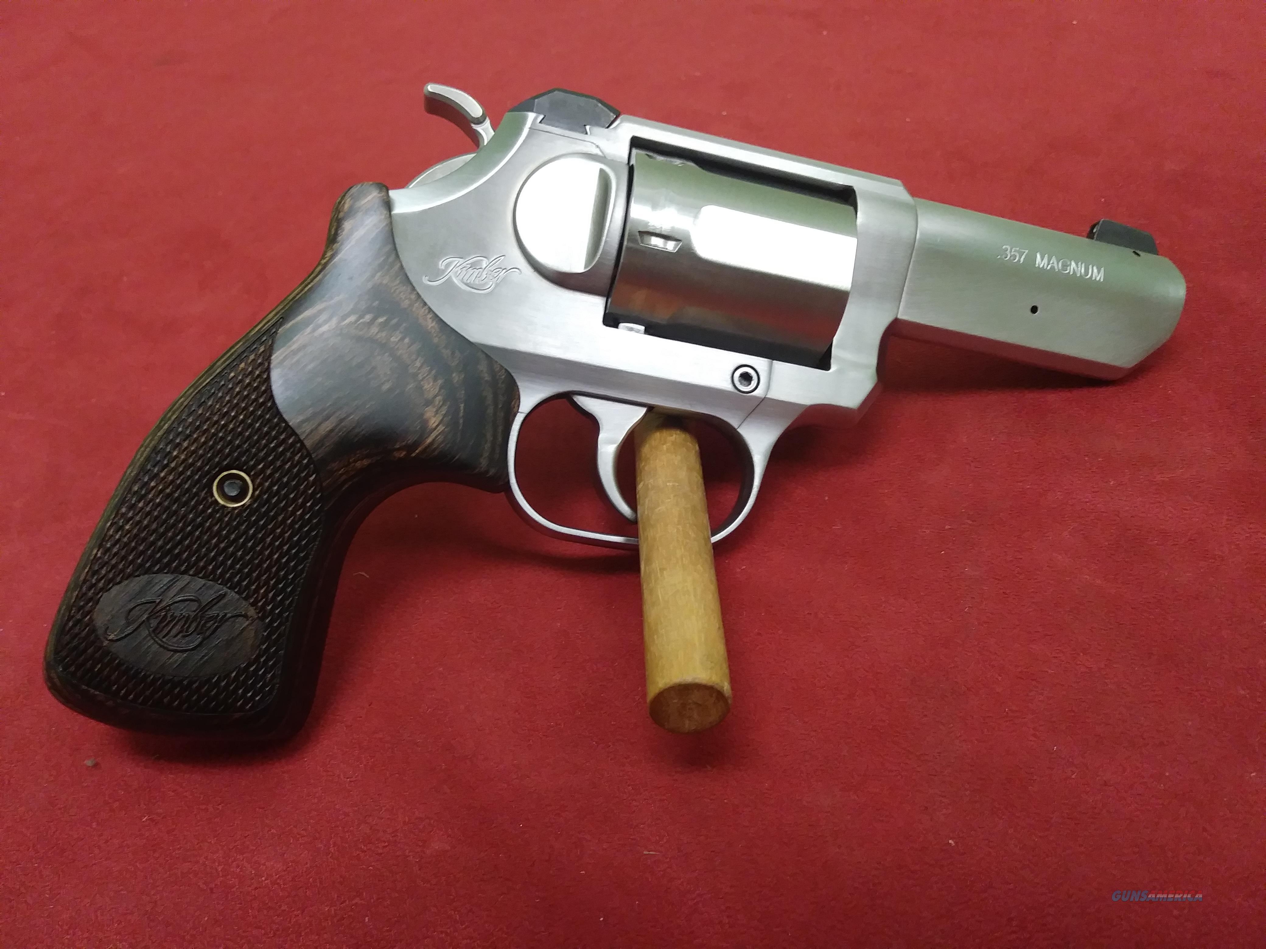 Kimber K6s, 357 mag  Guns > Pistols > Kimber of America Pistols > Revolvers