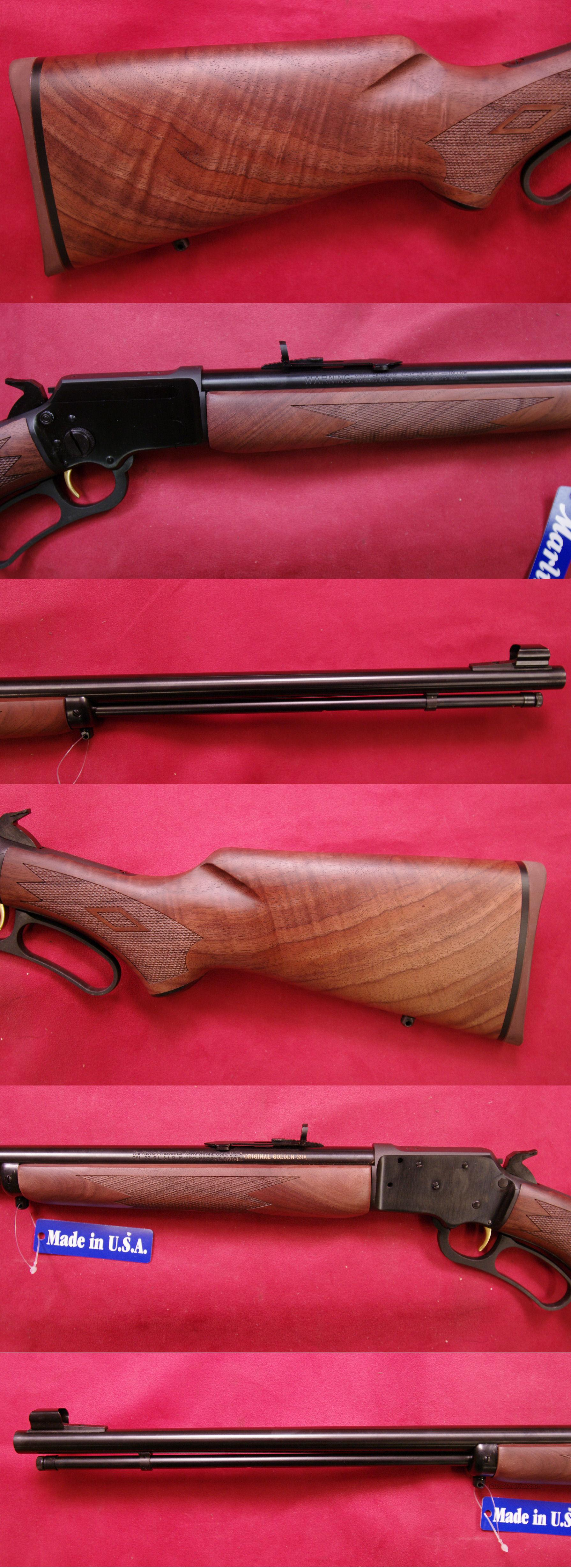 Marlin 39A Lever Action .22 Cal  Guns > Rifles > Marlin Rifles > Modern > Lever Action