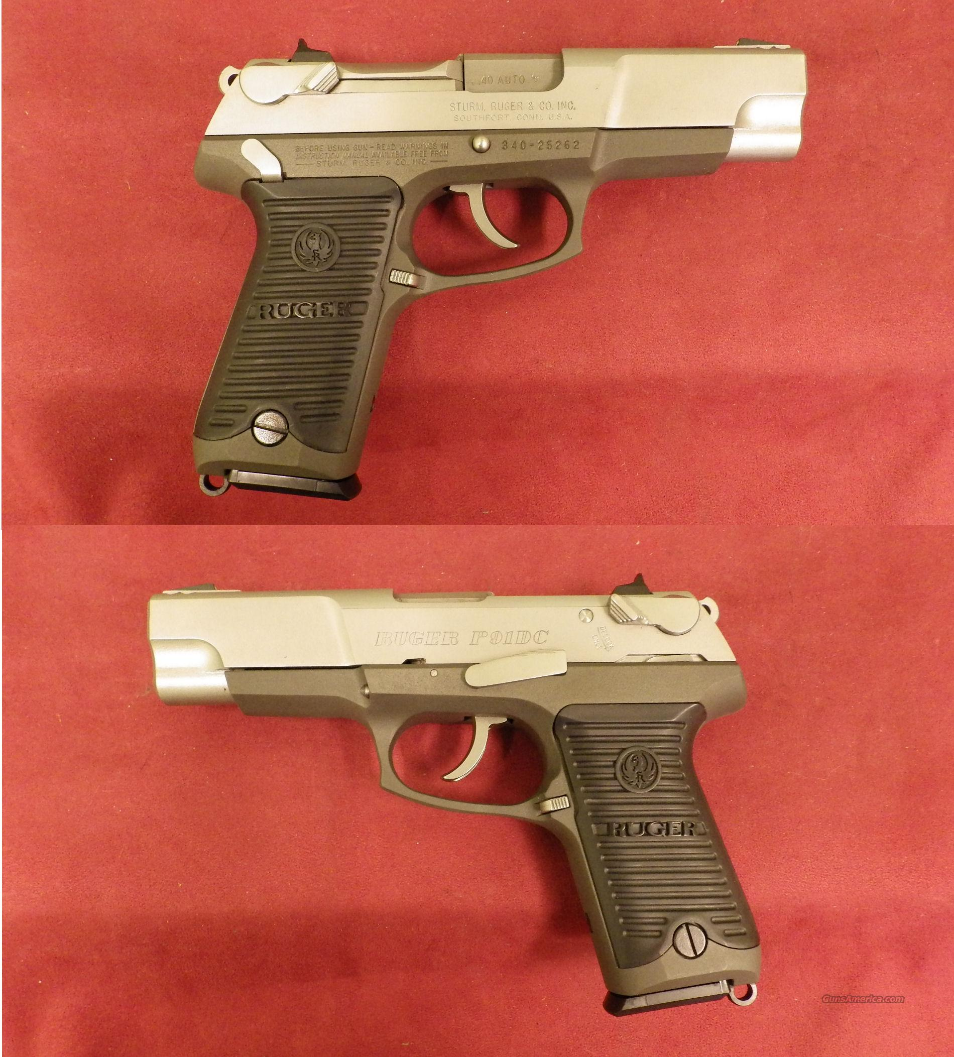 Ruger P91DC 40 S&W  *MUST CALL*  Guns > Pistols > Ruger Semi-Auto Pistols > P-Series