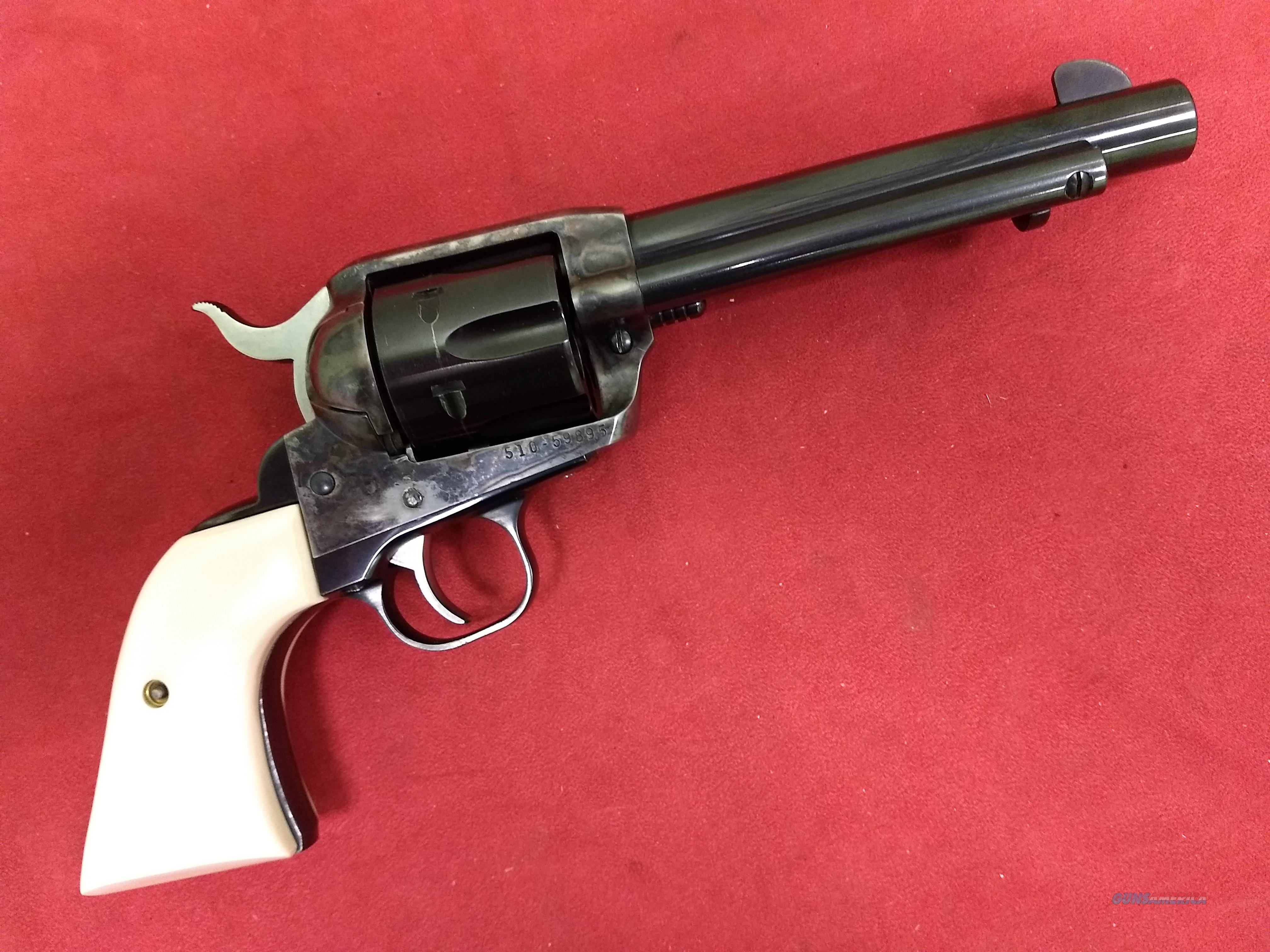 Customized Ruger New Vaquero, .45 Colt  Guns > Pistols > Ruger Single Action Revolvers > Cowboy Action