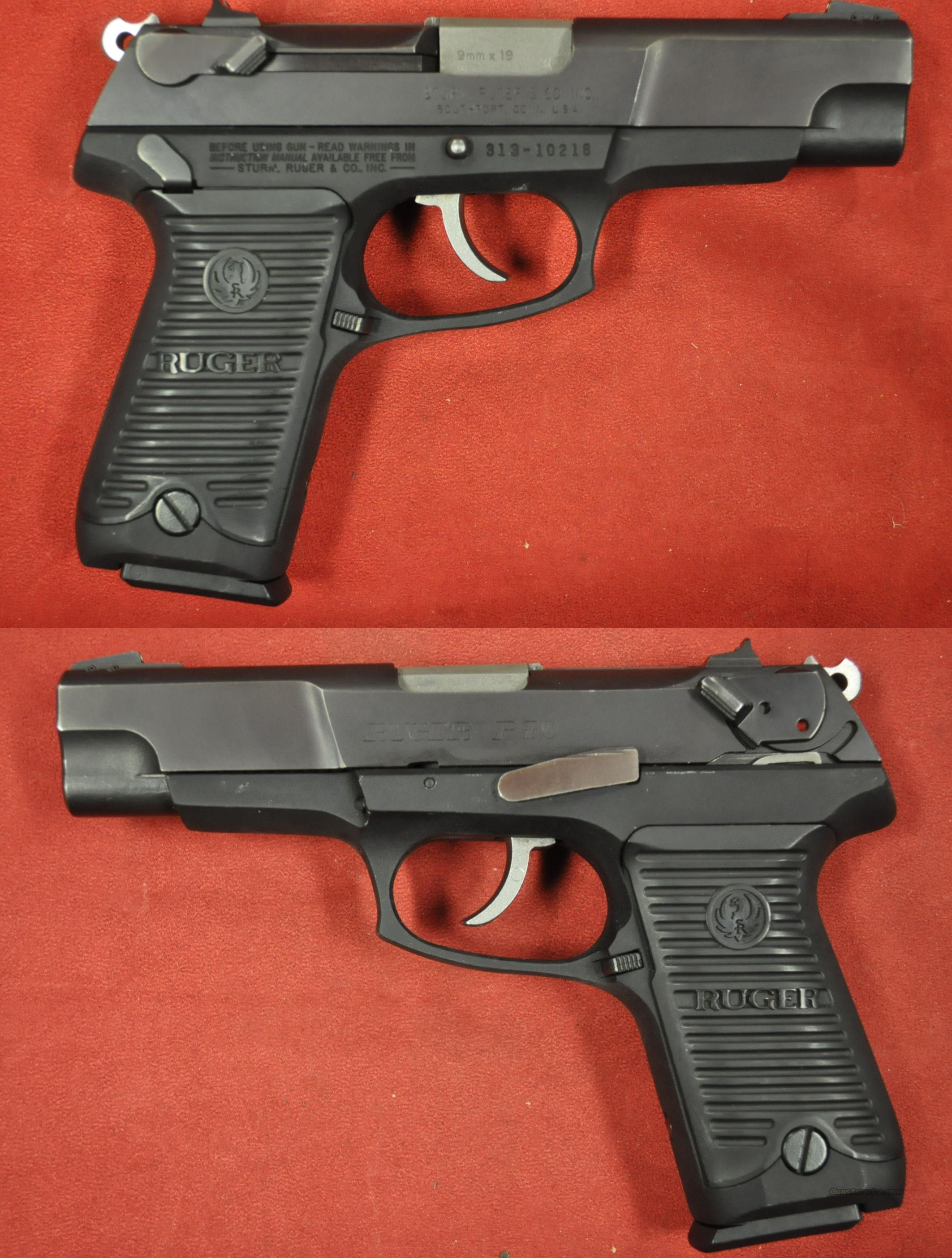 Ruger P-89 double action 9mm   Guns > Pistols > Ruger Semi-Auto Pistols > P-Series