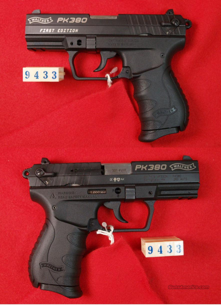 WALTHER PK380   380ACP   Guns > Pistols > Walther Pistols > Post WWII > PP Series