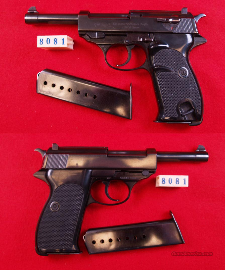 WALTHER P-38  9MM  Guns > Pistols > Walther Pistols > Post WWII > Large Frame Autos