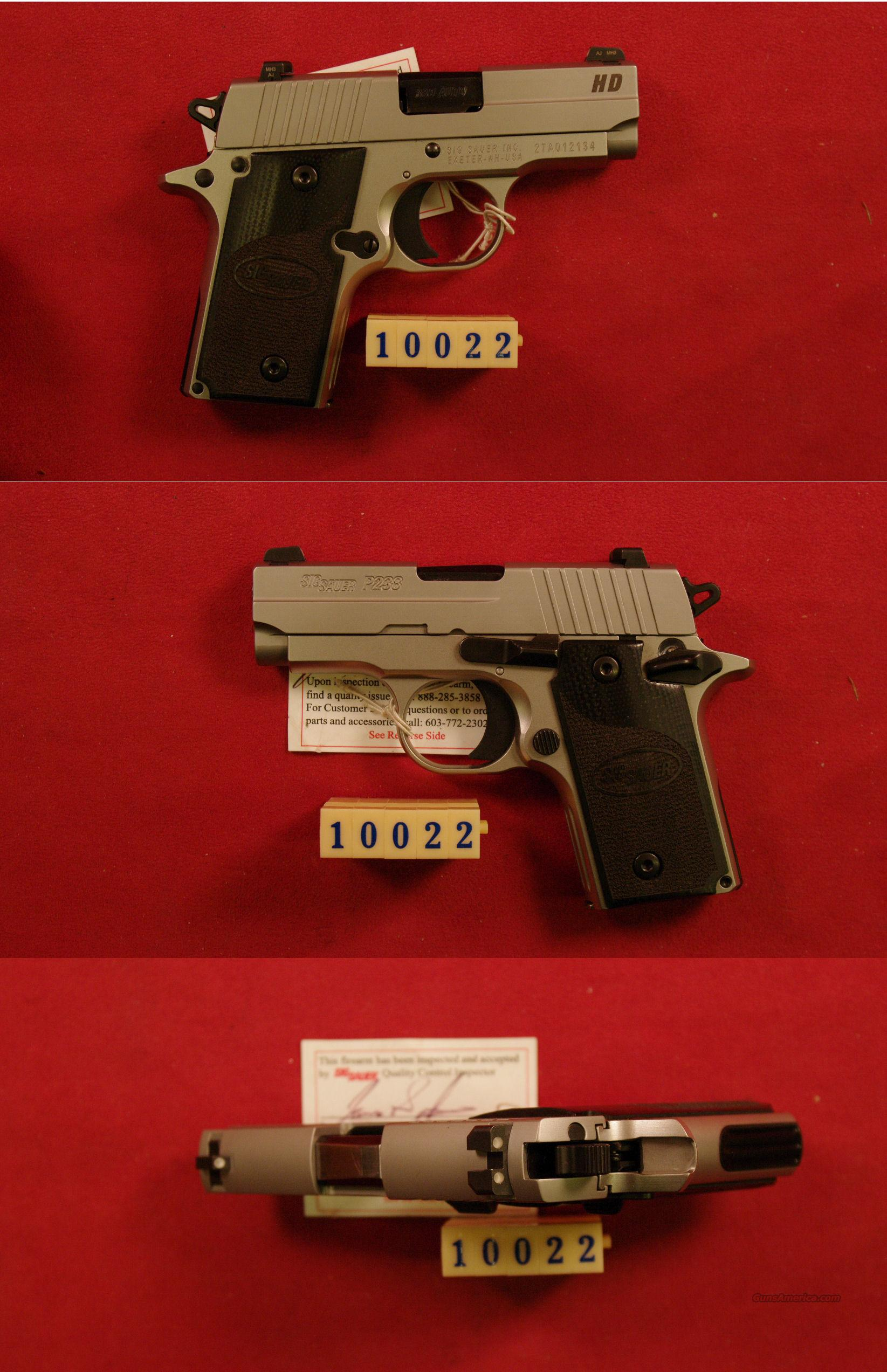 Sig Sauer P-238 HD 380 ACP  Guns > Pistols > Sig - Sauer/Sigarms Pistols > Other