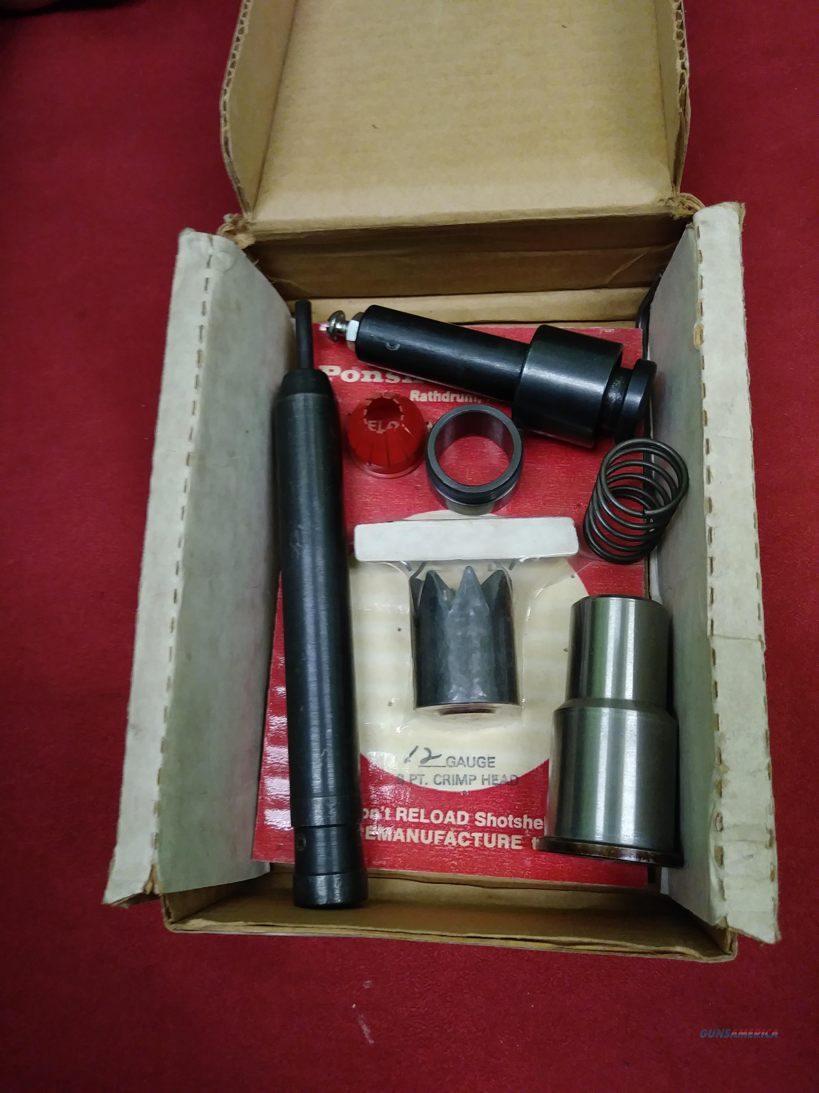 Ponsness-Warren Duomatic 12 Gauge Reloading Accessories  Non-Guns > Reloading > Equipment > Metallic > Misc
