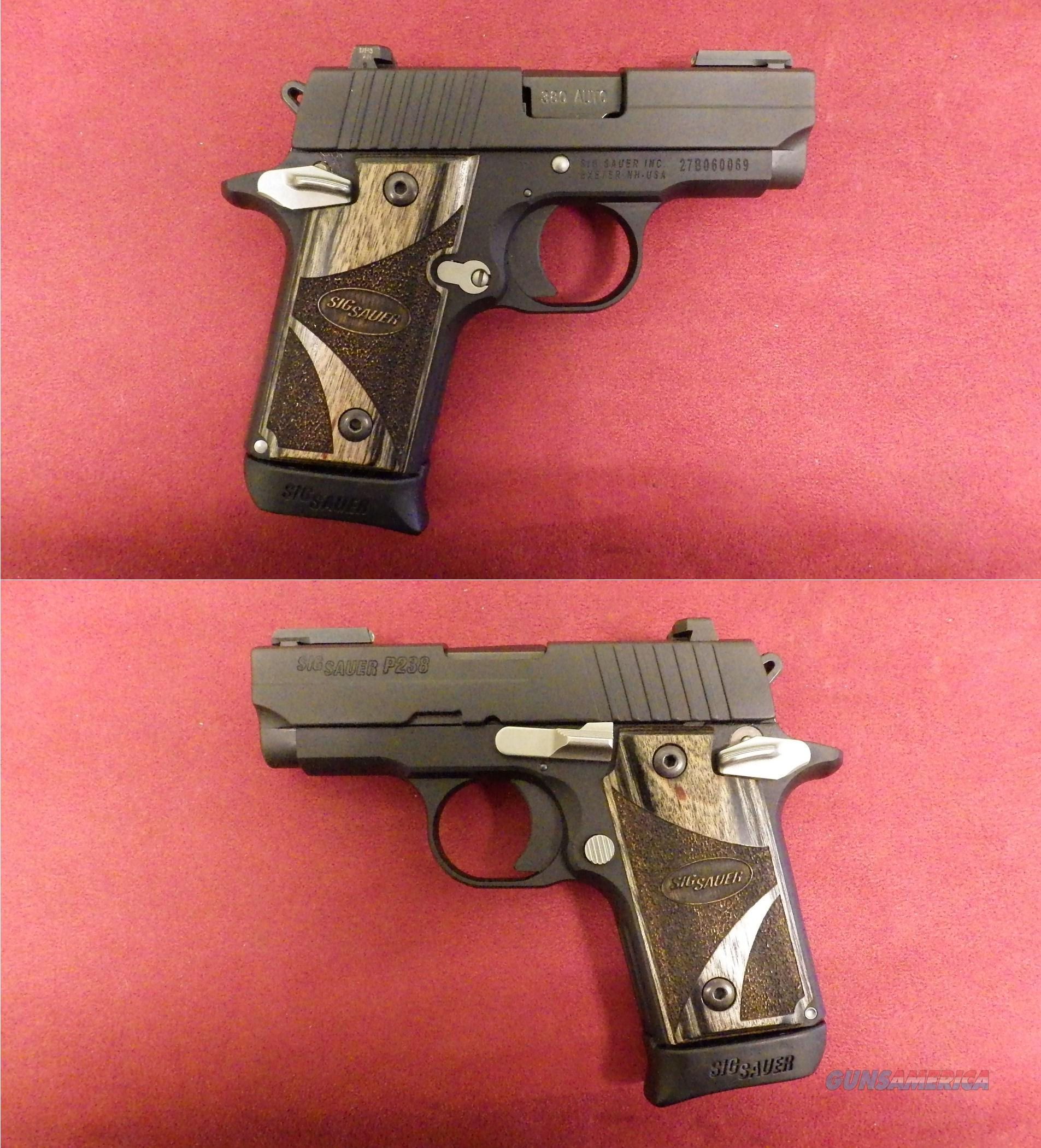 Sig Sauer P-238 .380 ACP  *MUST CALL*  Guns > Pistols > Sig - Sauer/Sigarms Pistols > P238