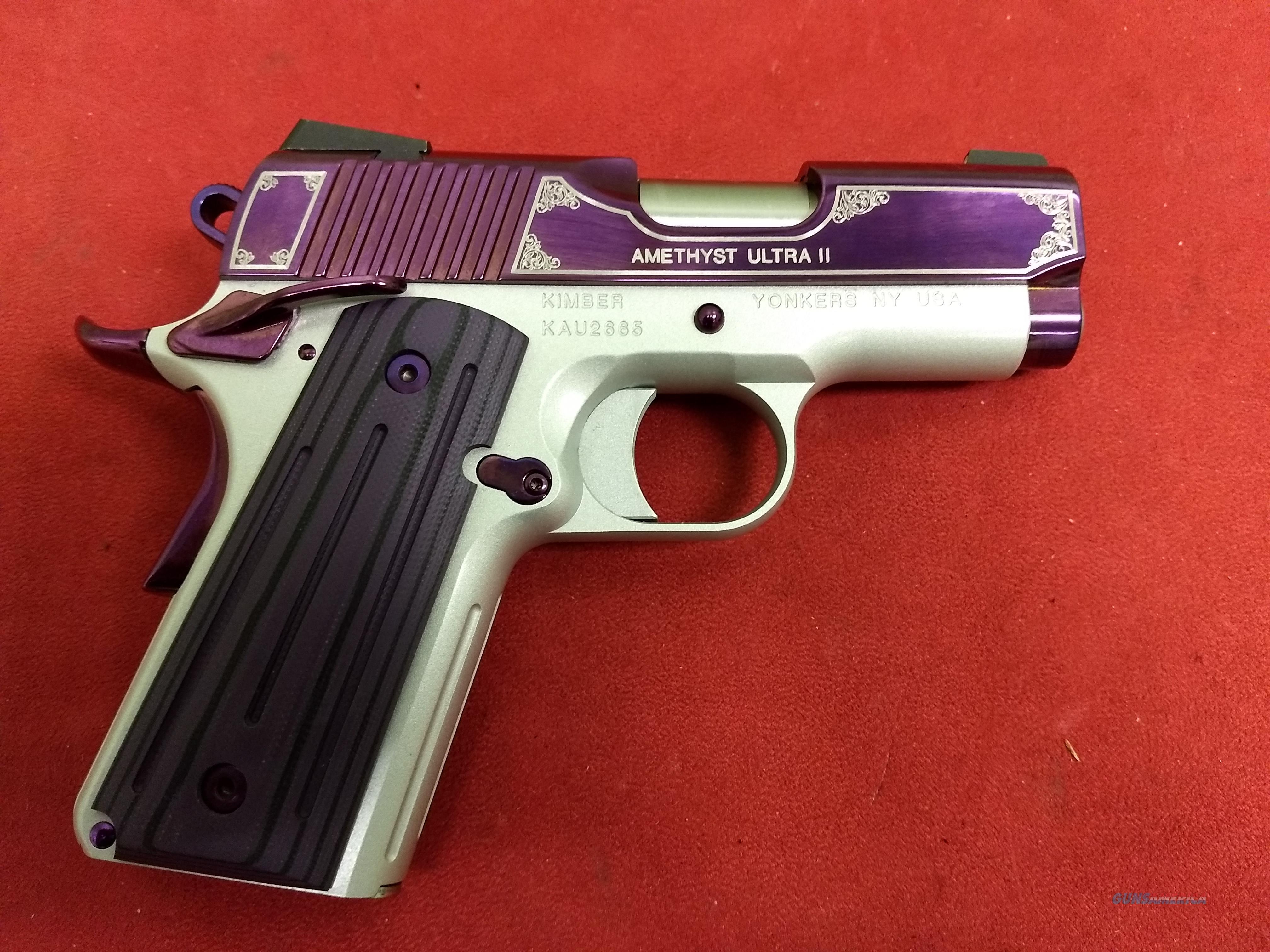 Kimber Amethyst Ultra II, .45 ACP, NIB  Guns > Pistols > Kimber of America Pistols > 1911