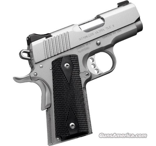 Kimber Stainless Ultra TLE II, .45ACP *MUST CALL*  Guns > Pistols > Kimber of America Pistols
