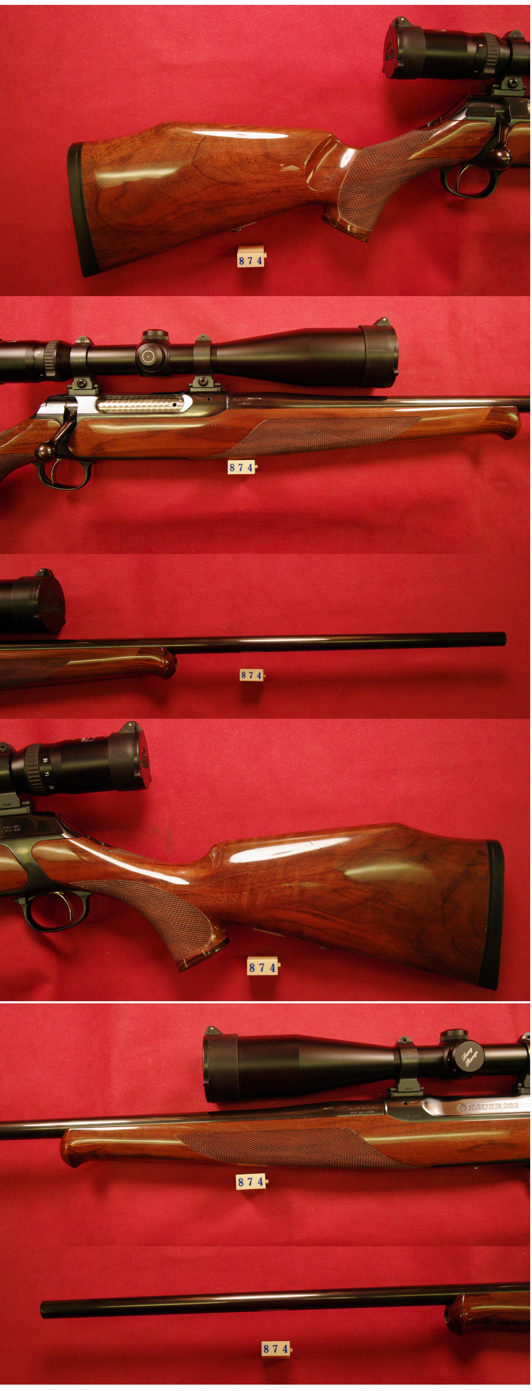 Sauer 202 300Weatherby Magnum  Guns > Rifles > S Misc Rifles