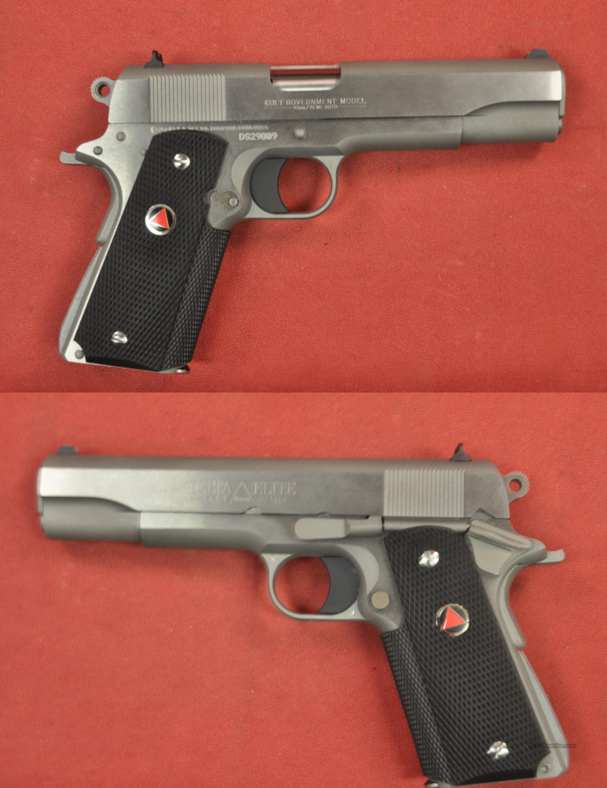 Colt Delta Elite 10mm *MUST CALL*  Guns > Pistols > Colt Automatic Pistols (1911 & Var)