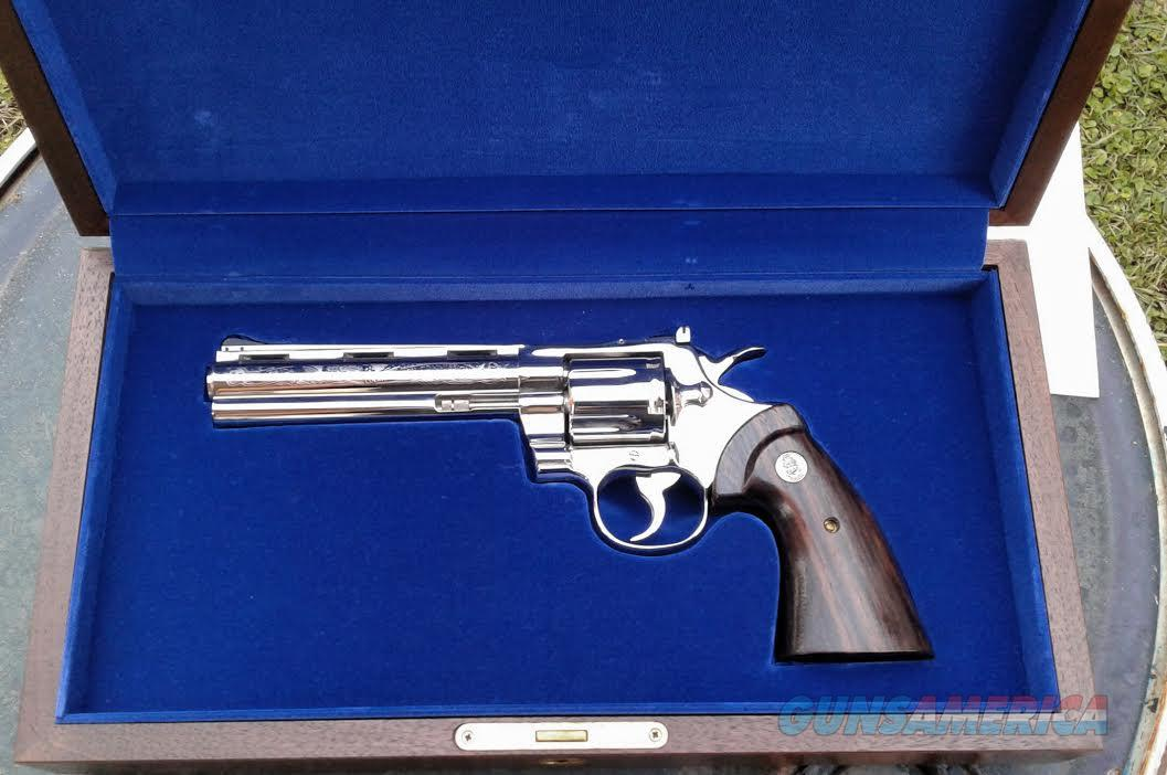 Colt python commemorative fl game and fish comm for sale for Florida game and fish