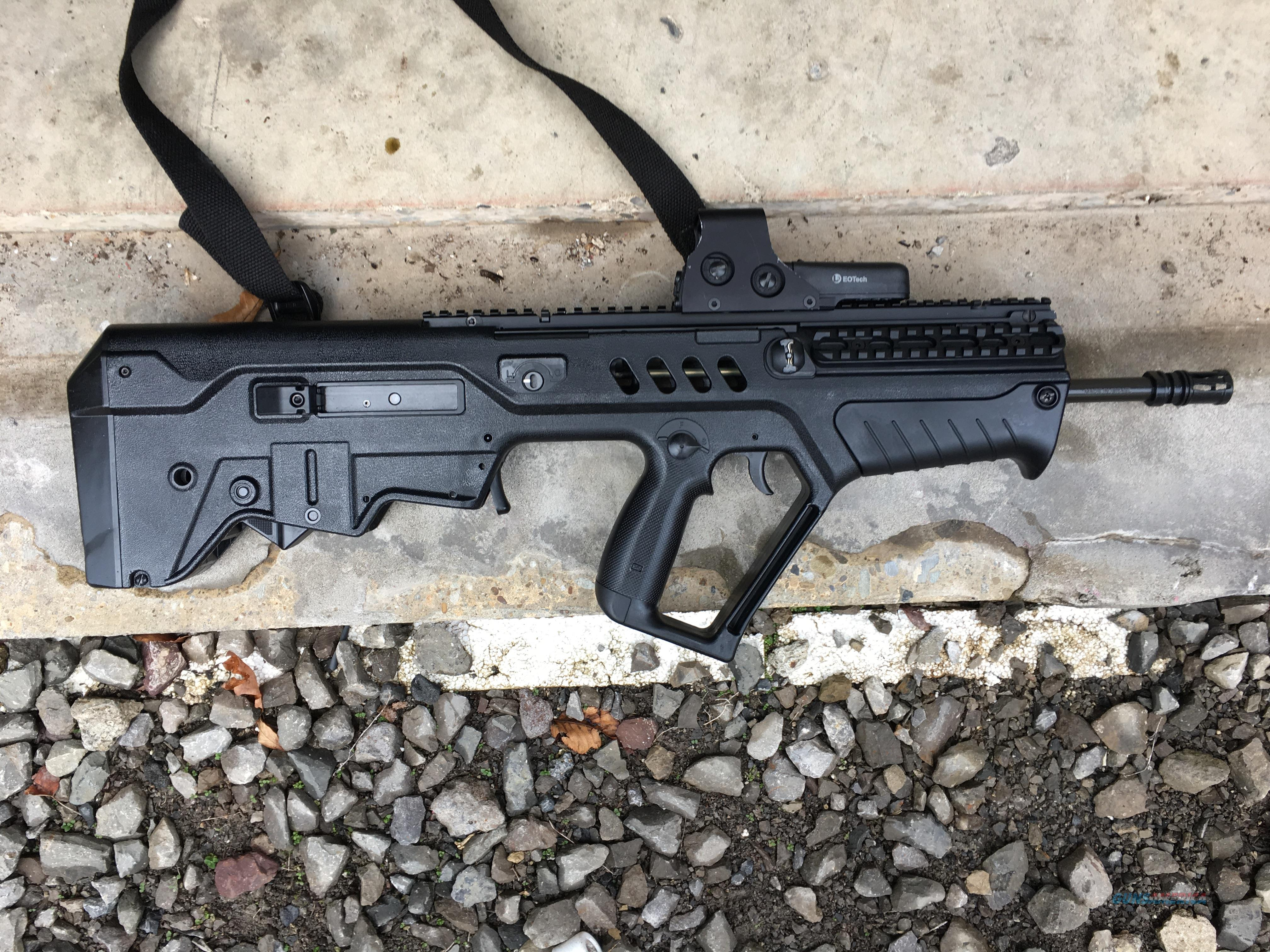 IWI Tavor (16.5 inch barrel in Black)  Guns > Rifles > IWI