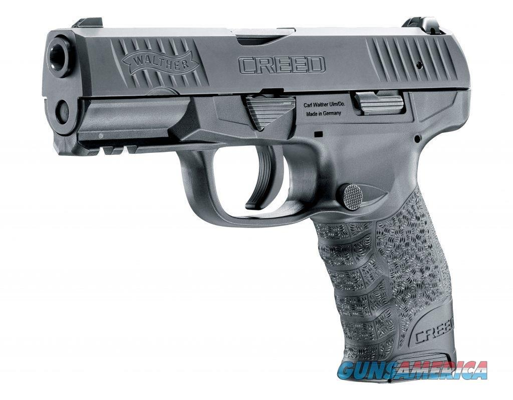 "Walther Creed Hot New 2016 , 9MM, 4"", Polymer, Black, 16Rd, 2 Mags, 3 Dot Sights  Guns > Pistols > Walther Pistols > Post WWII > Creed"