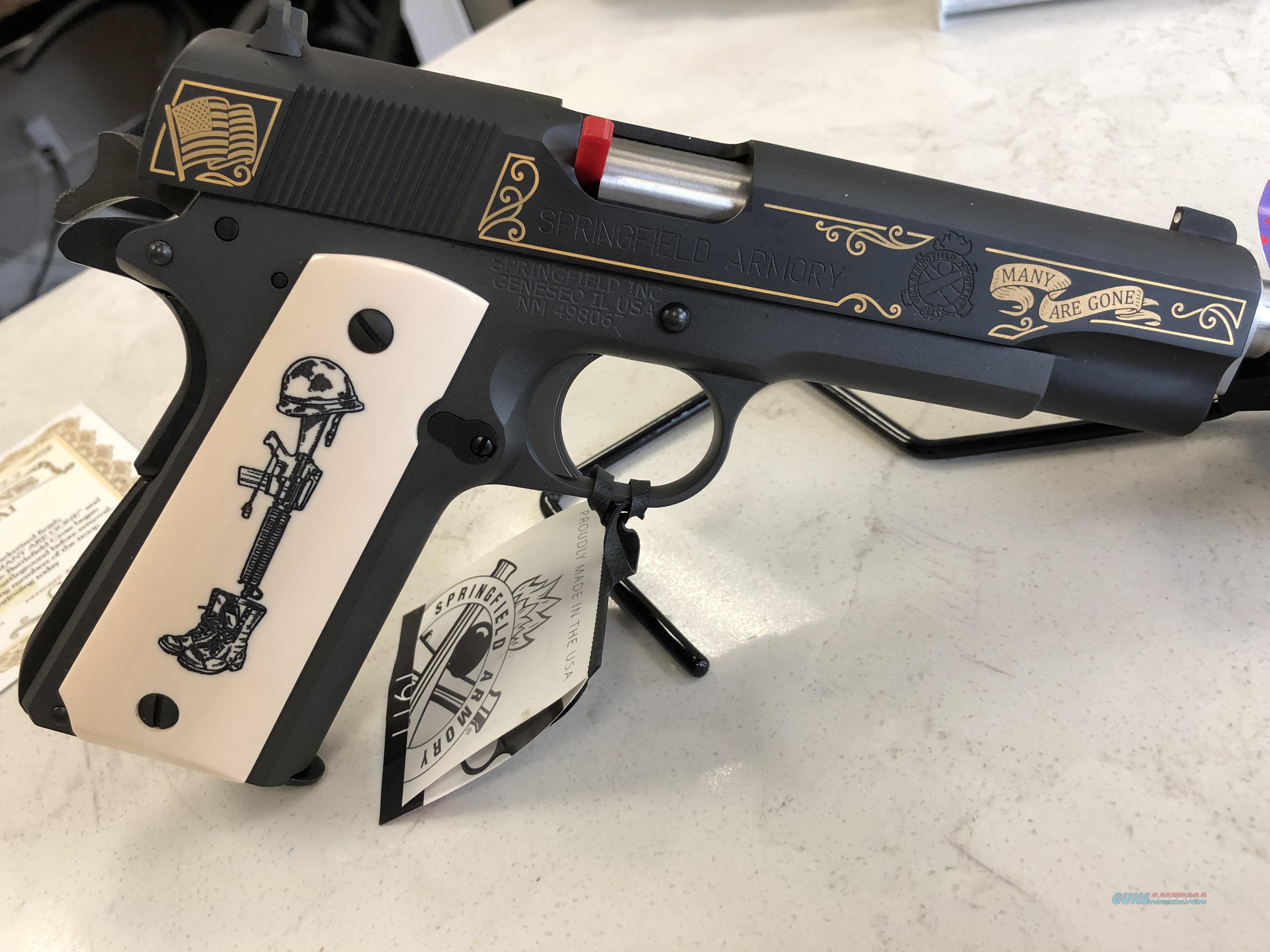 Limited Edition Springfield 1911-A1 Battlefield Cross  Guns > Pistols > Springfield Armory Pistols > 1911 Type