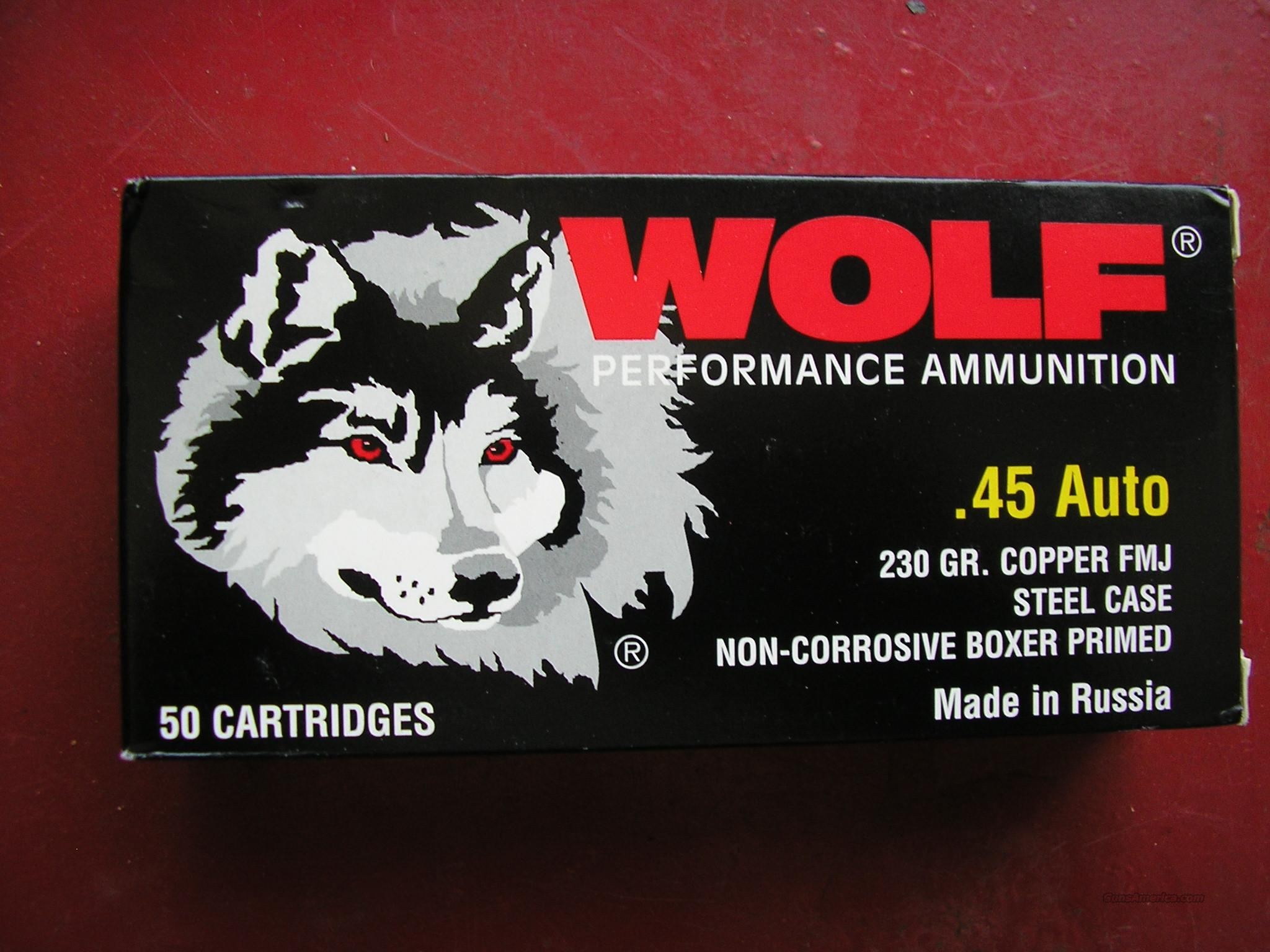 Wolf .45 ACP  Non-Guns > Ammunition