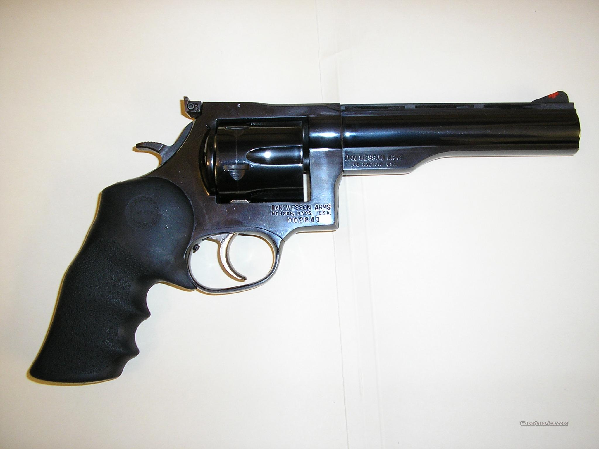 Dan Wesson .44 Magnum   Guns > Pistols > Wesson Firearms Co. Revolvers