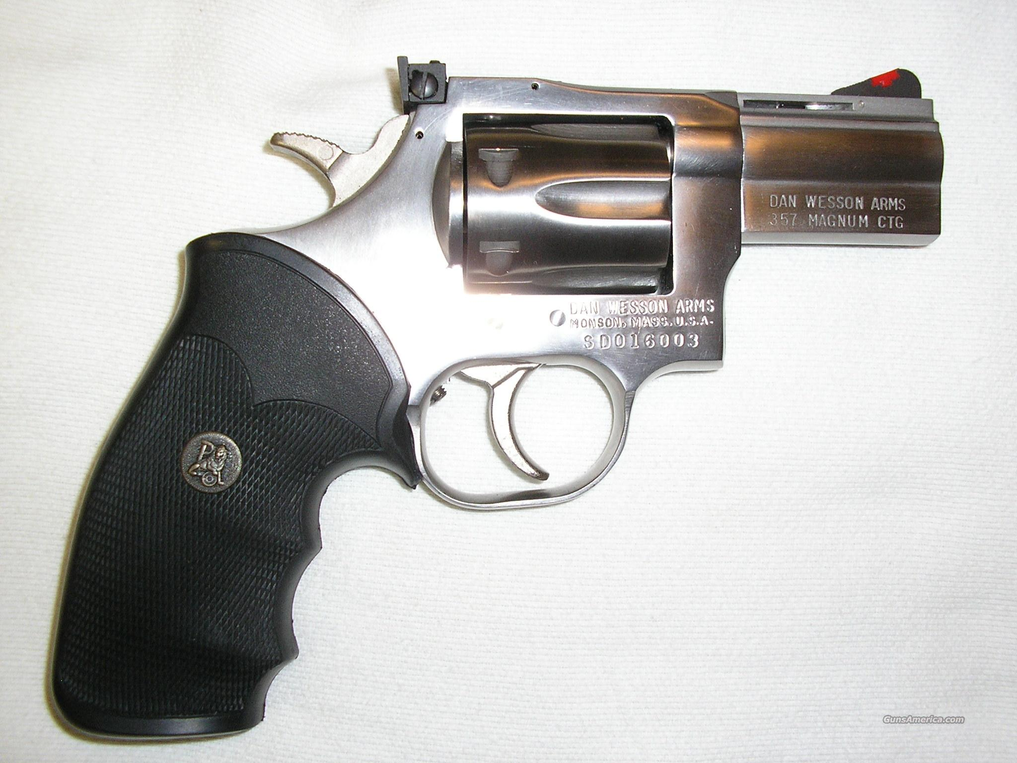 New Dan Wesson SS .357 Magnum Revolver Action  Guns > Pistols > Dan Wesson Pistols/Revolvers > Revolvers