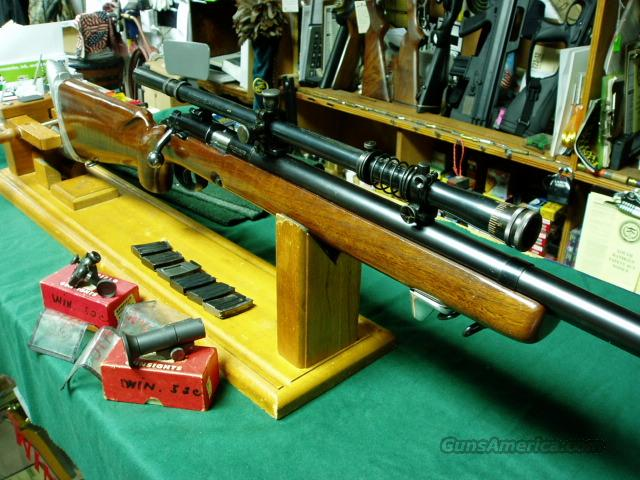 WINCHESTER MODEL  52-C  HEAVY BULL OLYMPIC SIGHTS  Guns > Rifles > Winchester Rifles - Modern Bolt/Auto/Single > Other Bolt Action