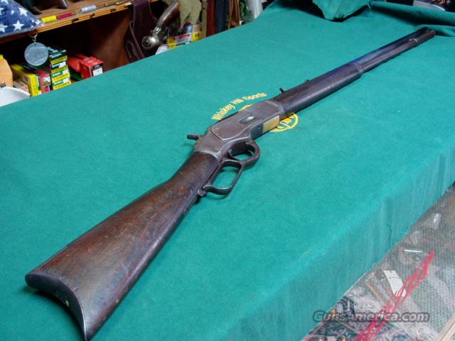 WINCHESTER 1873 38WCF.ALL ORIG.NO RESERVE AUCTION  Guns > Rifles > Winchester Rifles - Pre-1899 Lever