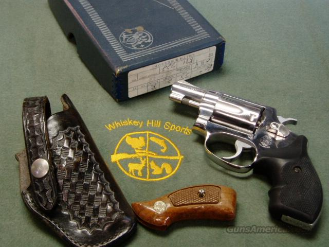 S&W MODEL 60 NO DASH STAINLESS  Guns > Pistols > Smith & Wesson Revolvers > Full Frame Revolver