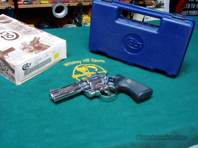 "COLT PYTHON ""ULTIMATE FINISH"" .357  Guns > Pistols > Colt Double Action Revolvers- Modern"