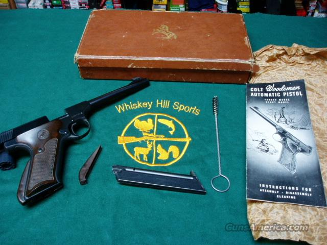 COLT WOODSMAN IN BOX AS NEW  Guns > Pistols > Colt Automatic Pistols (22 Cal.)