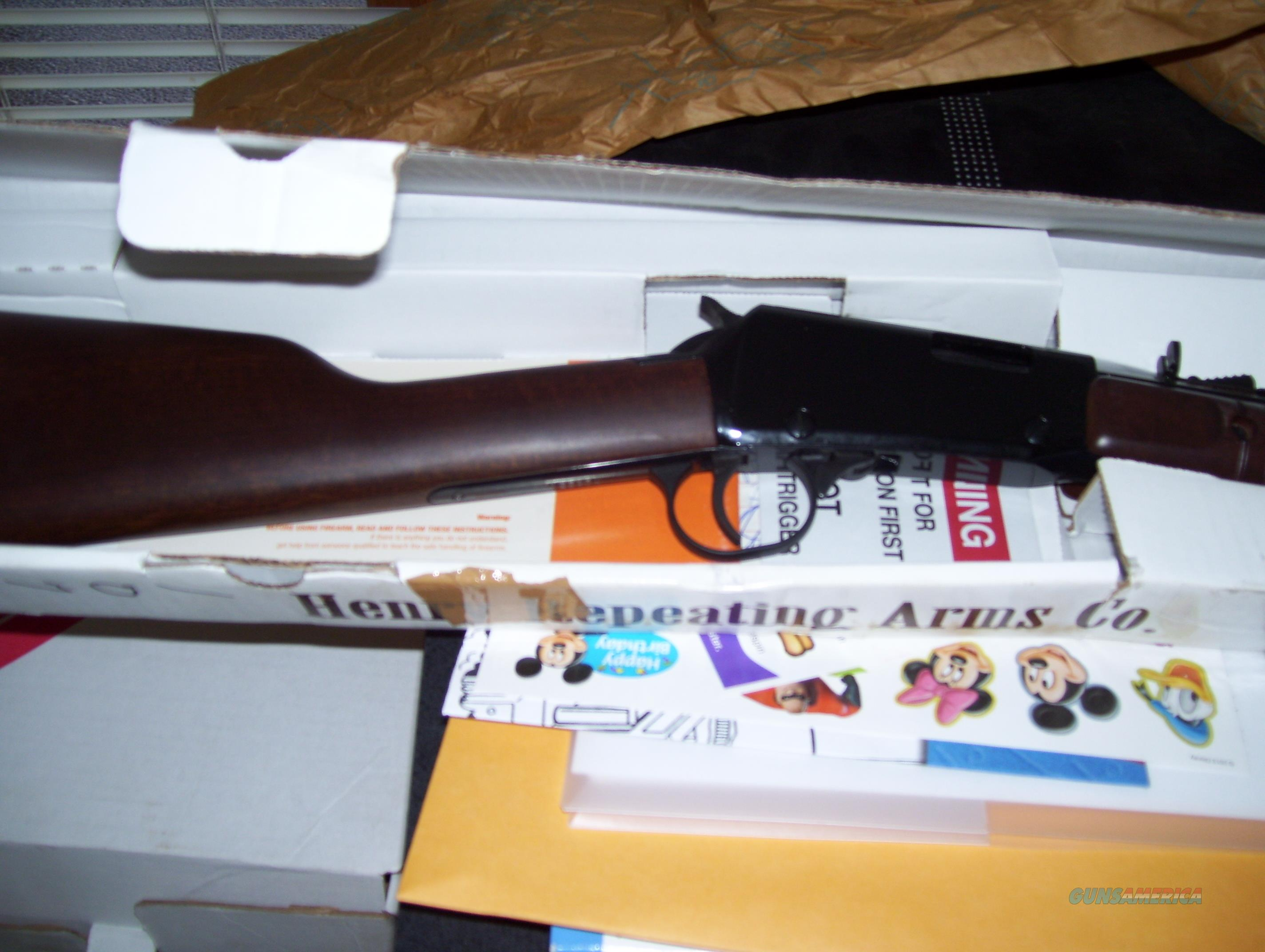 Henry .22magnum pump rifle  Guns > Rifles > Henry Rifle Company