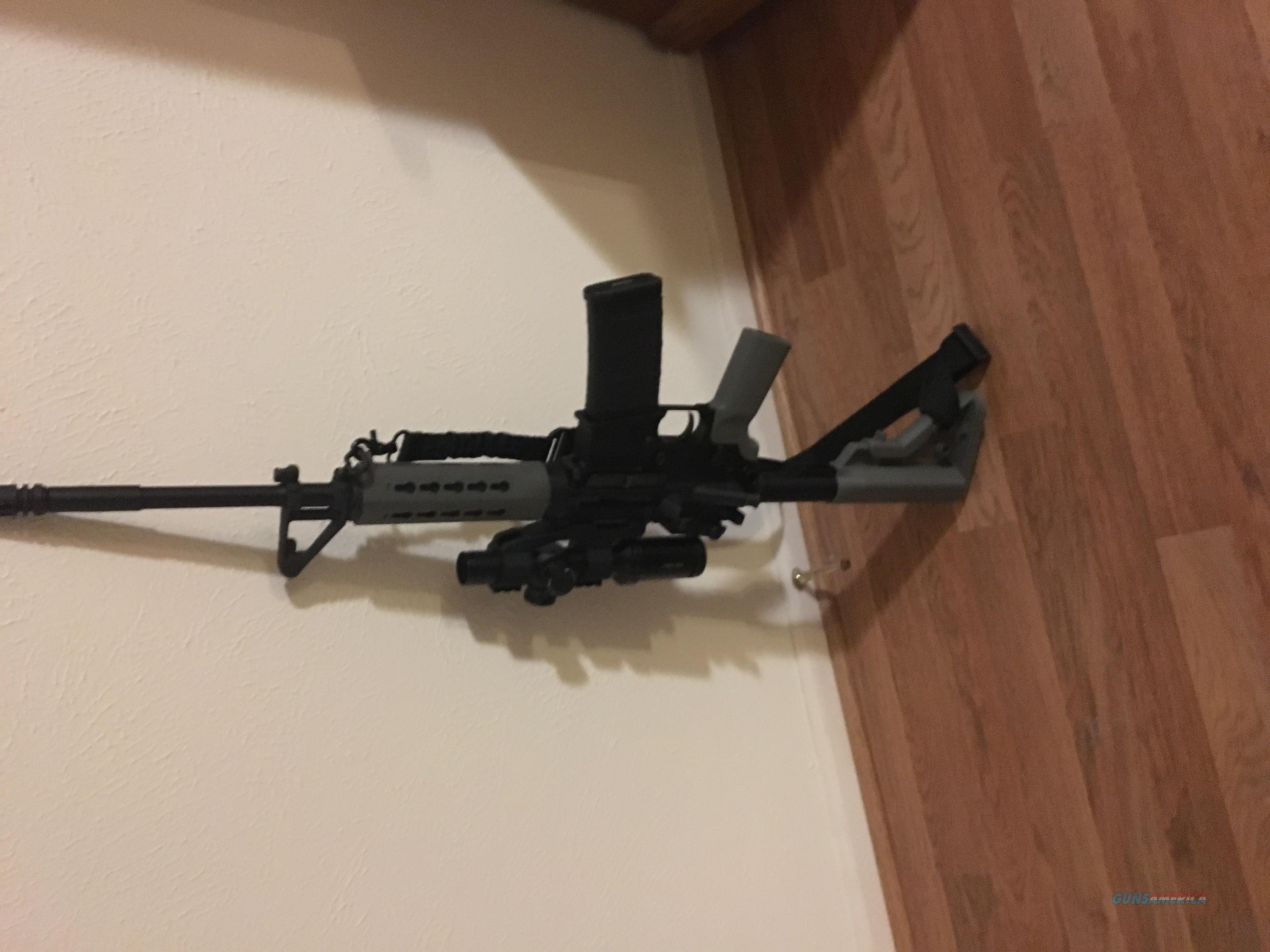 Sig sauer m400 with bushnell AR illuminated scope  Guns > Rifles > Sig - Sauer/Sigarms Rifles