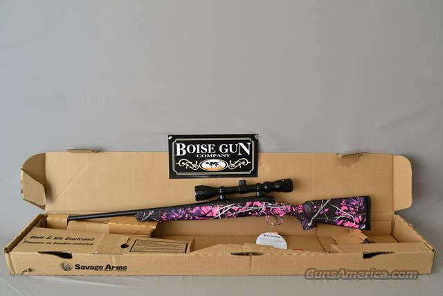 Savage Axis XP Youth Muddy Girl 7mm-08 New  Guns > Rifles > Savage Rifles > Standard Bolt Action > Sporting