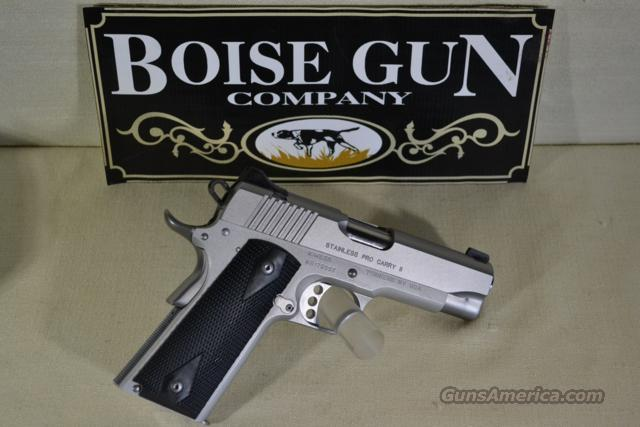 Kimber Stainless Pro Carry II 45 ACP New  Guns > Pistols > Kimber of America Pistols