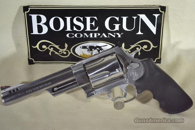 Smith & Wesson Model S&W 500 500 S&W New  Guns > Pistols > Smith & Wesson Revolvers > Full Frame Revolver