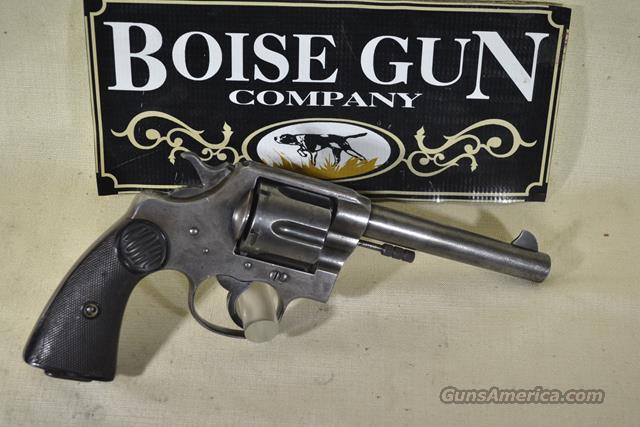 Colt New Service .455 ELEY ON SALE  Guns > Pistols > Colt Double Action Revolvers- Pre-1945