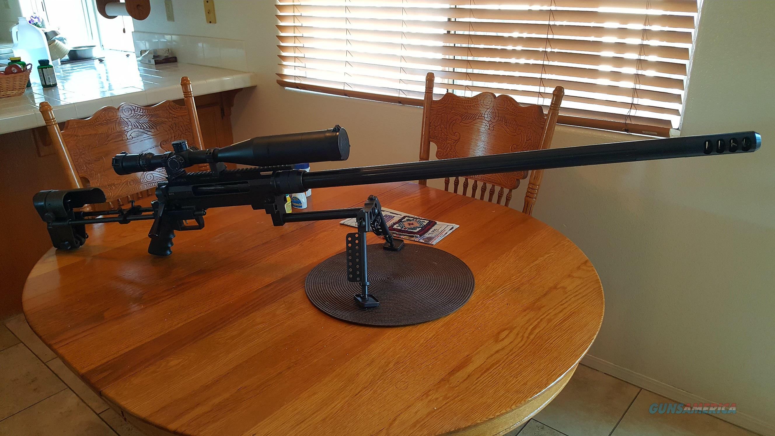 EDM ARMS Model 99 .50 BMG with extra .338 Lapua Single shot  Guns > Rifles > EDM Arms Rifles