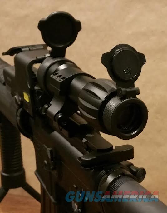 5x Magnifier and FTS Flip to Side Mount for eotech, aimpoint, vortex,  AR15, AR 15, AR 10, rifle  Non-Guns > Scopes/Mounts/Rings & Optics > Non-Scope Optics > Other
