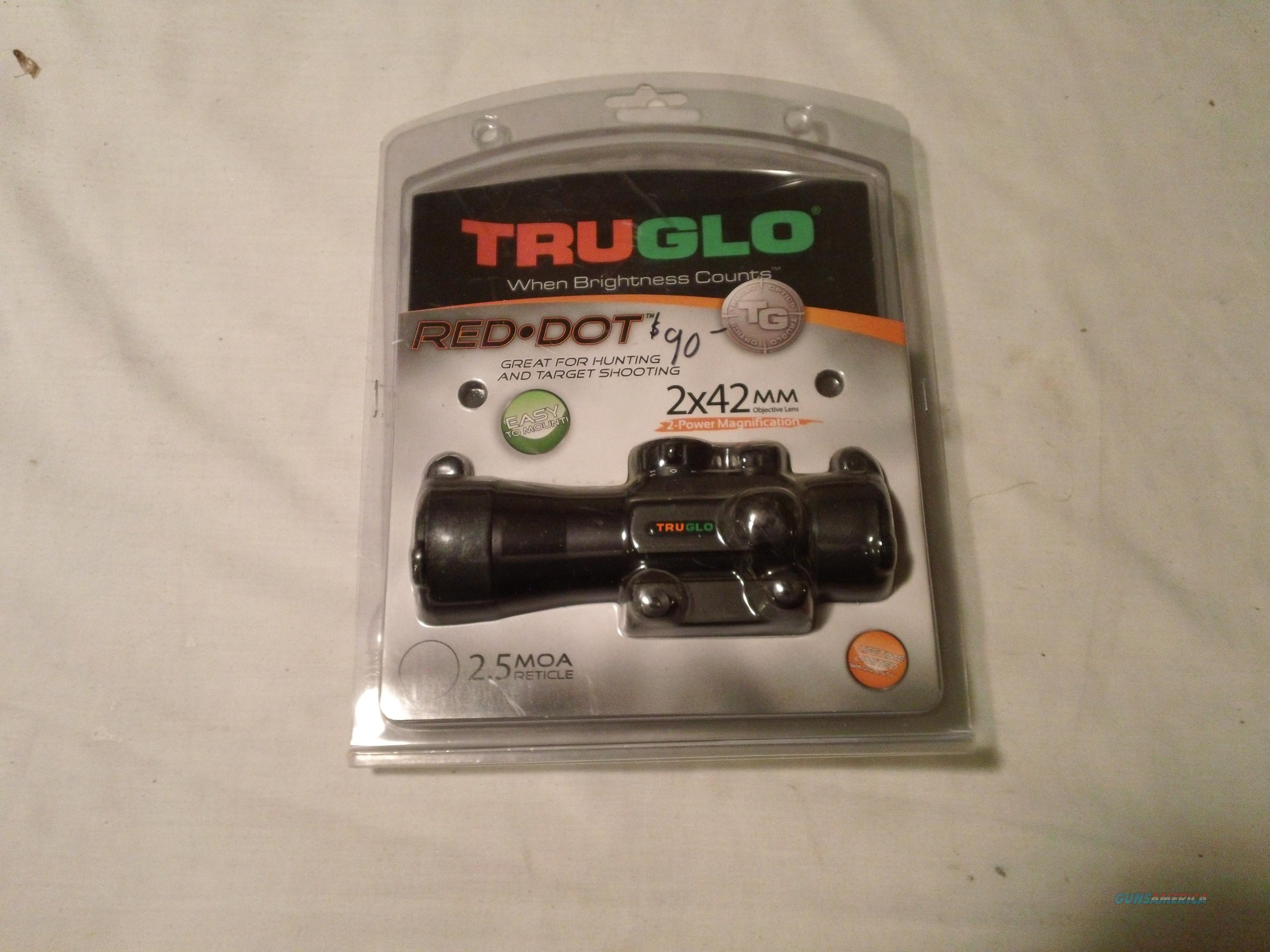 Truglo red dot 2x42  Non-Guns > Scopes/Mounts/Rings & Optics > Tactical Scopes > Red Dot