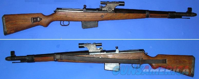 Mauser G41 (W) Sniper Rifle (RARE)  Guns > Rifles > Mauser Rifles > German