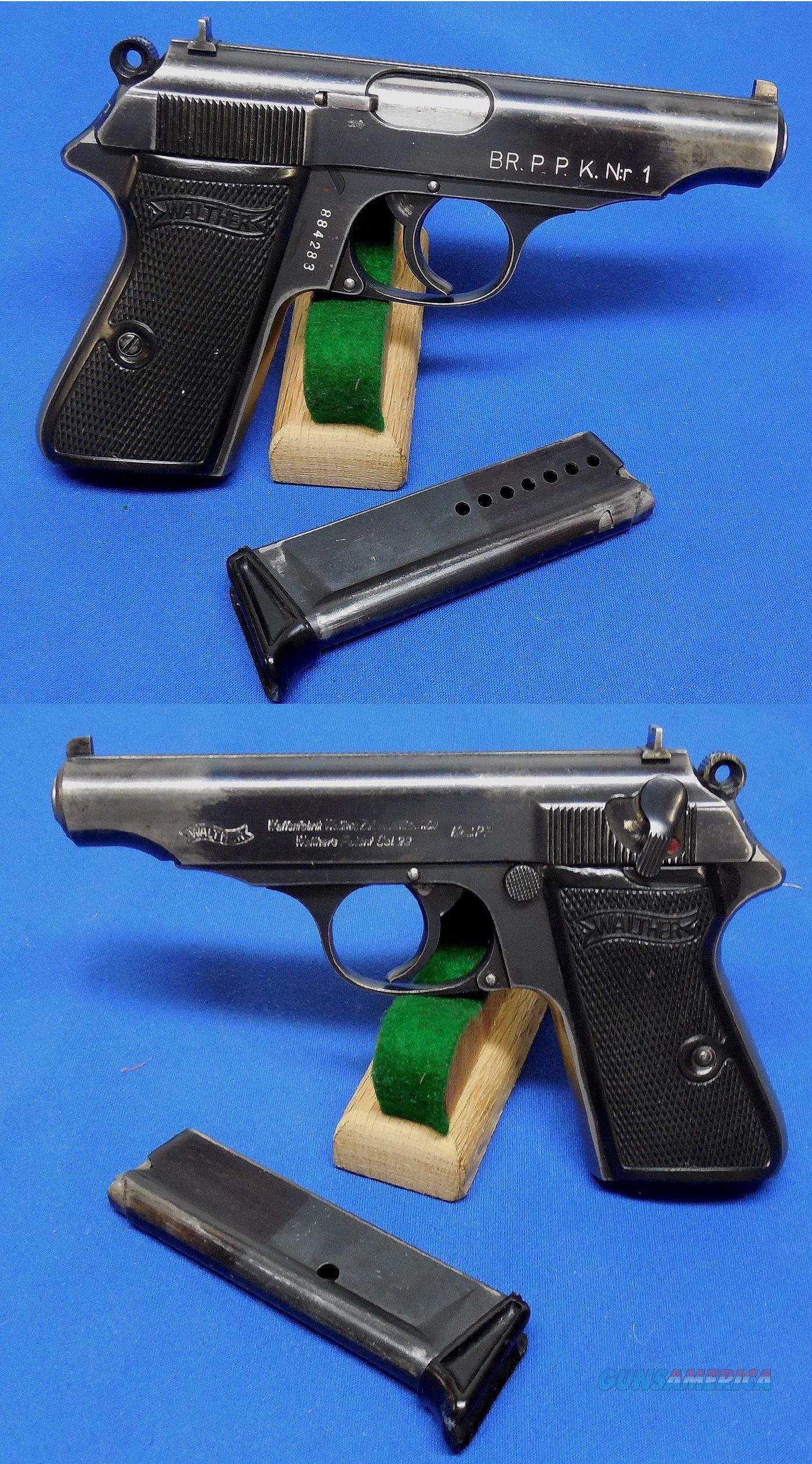 Walther PP Semi Auto Pistol with Police Marking  Guns > Pistols > Walther Pistols > Pre-1945 > PP