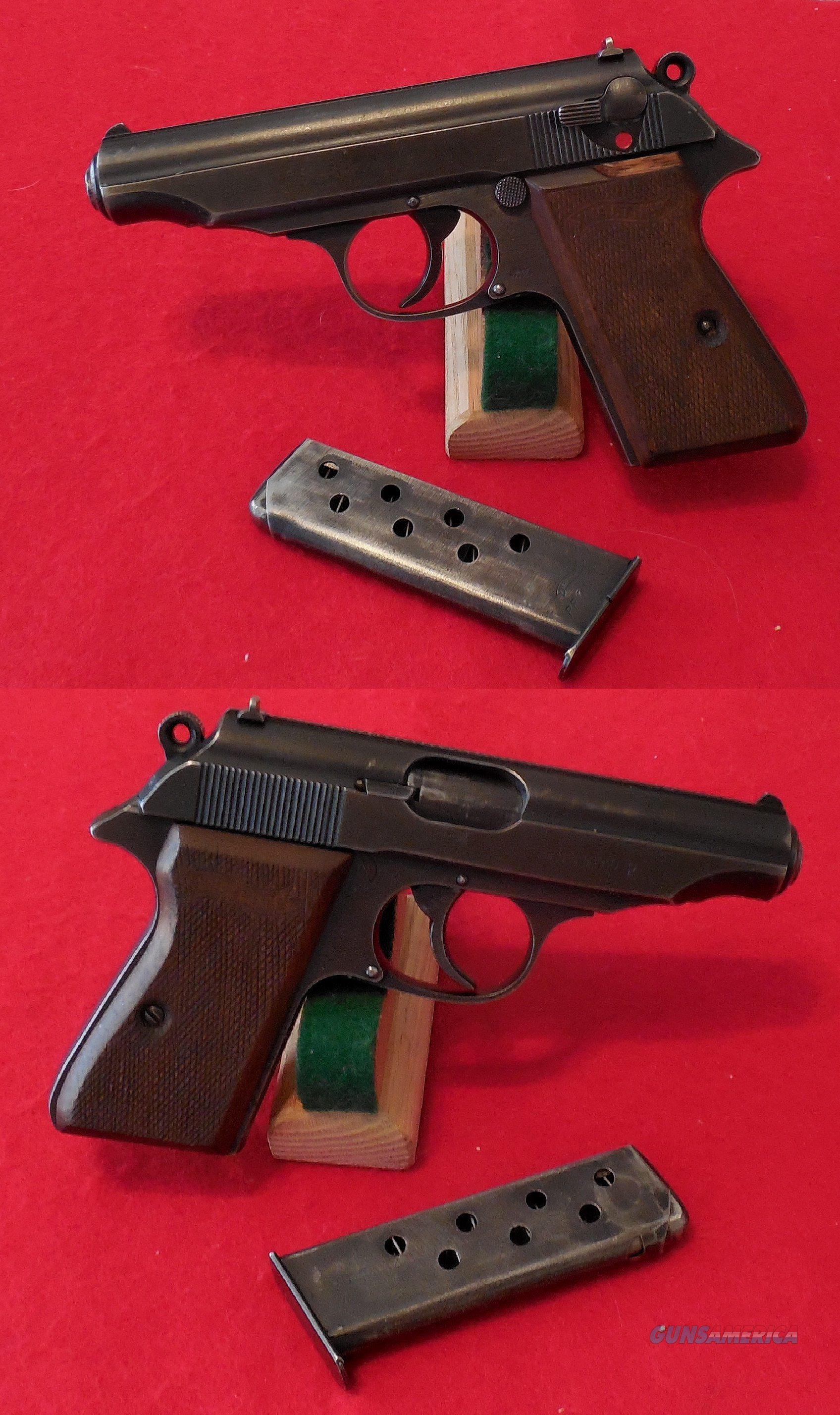 Walther PP (Waffenamt E/359) Semi-Auto Pistol  Guns > Pistols > Walther Pistols > Pre-1945 > PP