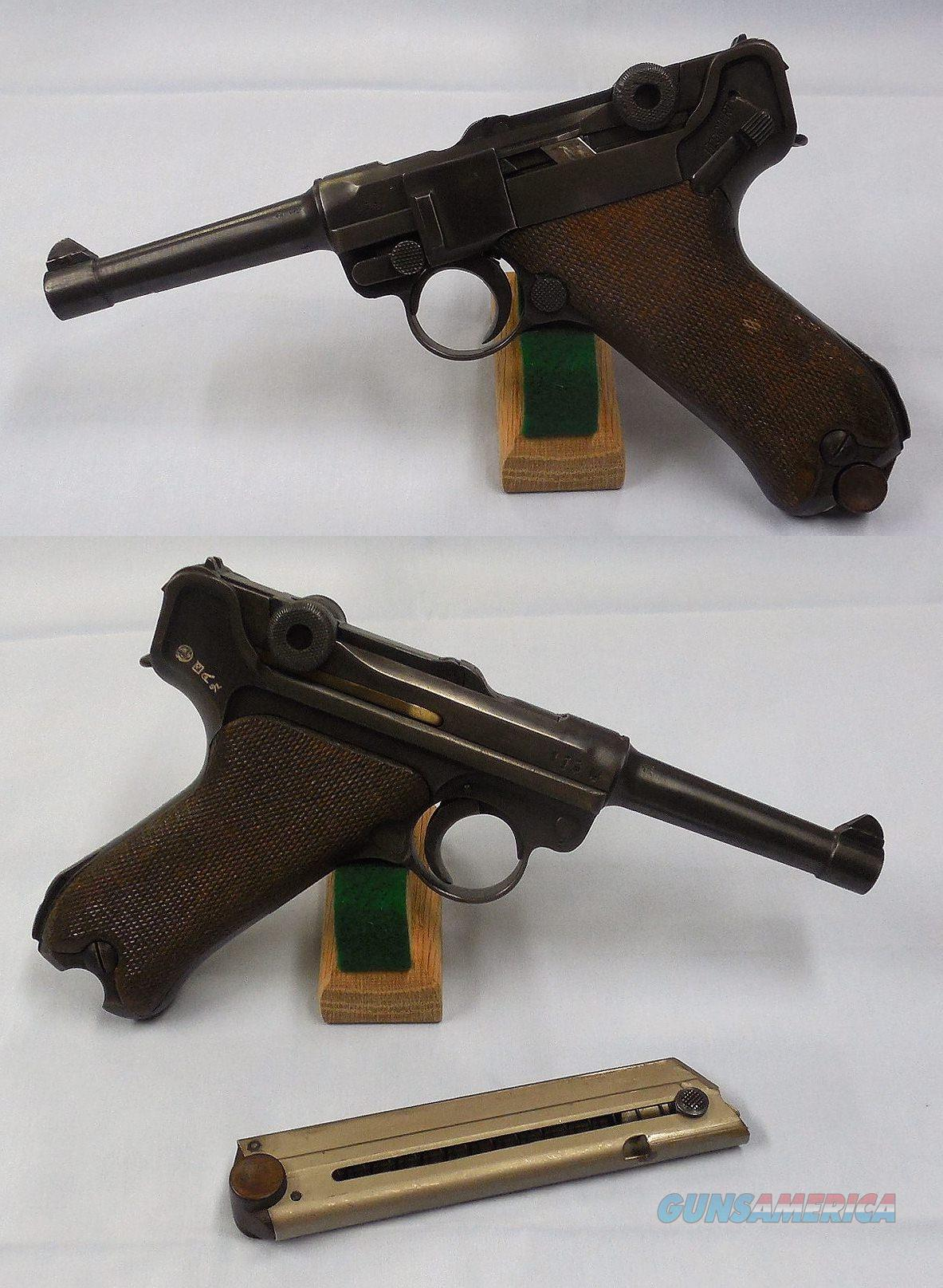 Luger P.08 Pistol with Thai Police Markings  Guns > Pistols > Luger Pistols