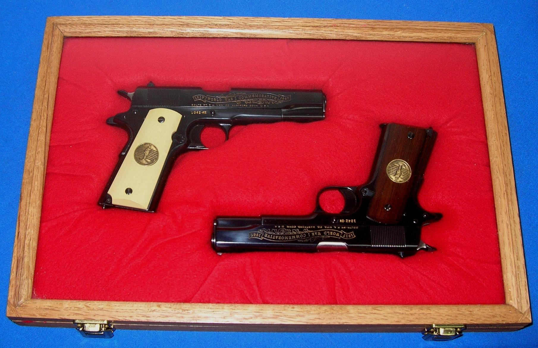 COLT Model 1911 Commemorative Pistol (Set)  Guns > Pistols > Colt Commemorative Pistols