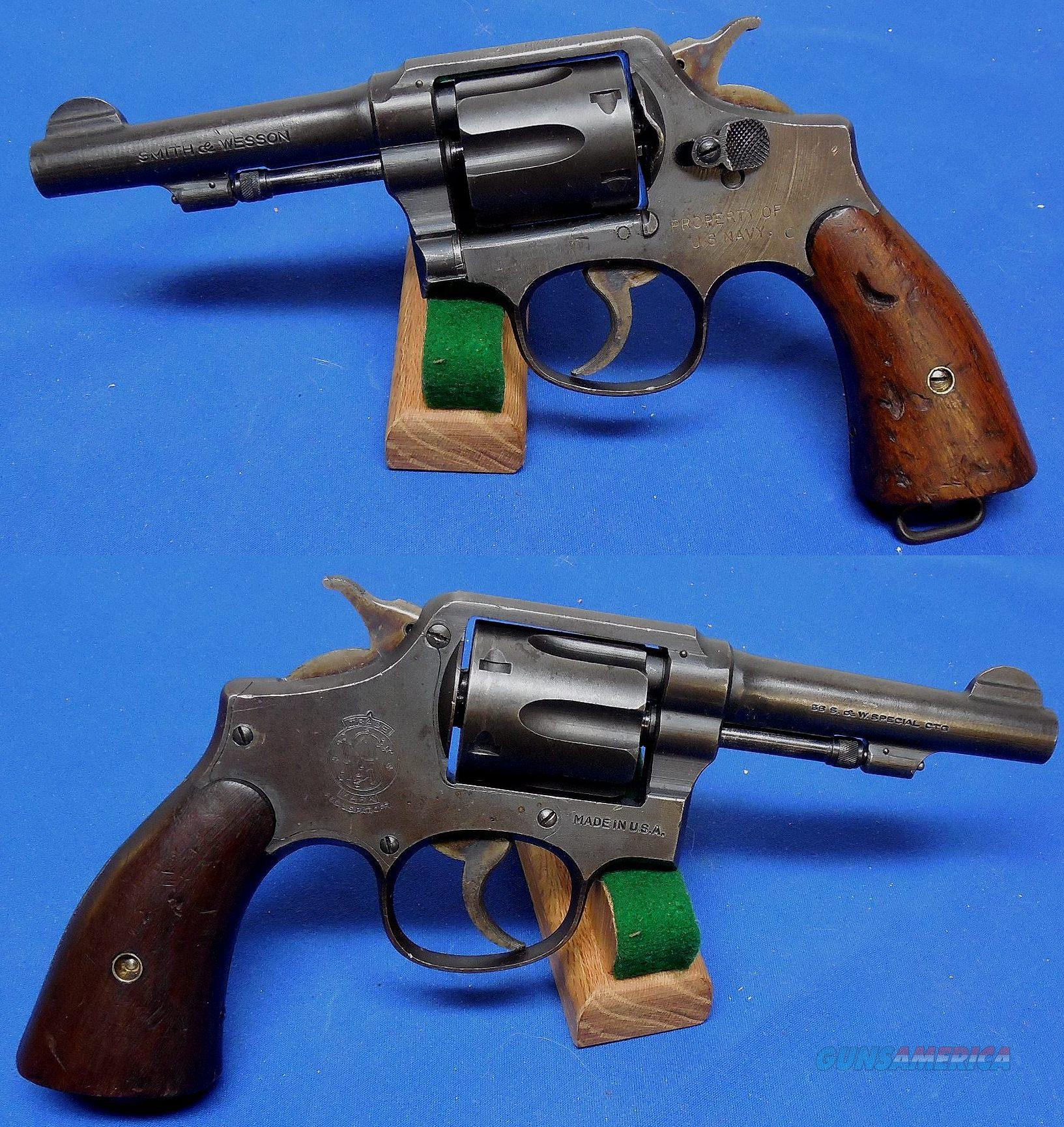 "S & W ""U.S. Navy Contract"" Victory Model Revolver  Guns > Pistols > Military Misc. Pistols US > Other"