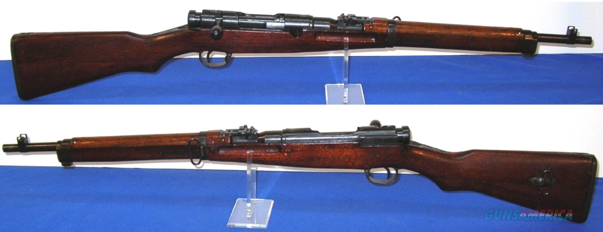 WWII Japanese Type 38 Arisaka Bolt Action Carbine  Guns > Rifles > Military Misc. Rifles Non-US > Other