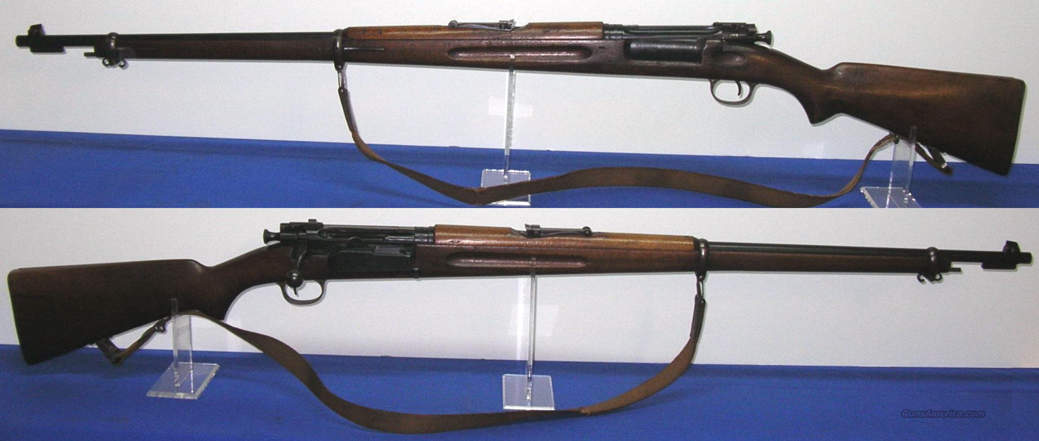 "Norwegian Krag ""Rare"" Nazi Issued 1943-50 Bolt Action Rifle  Guns > Rifles > Military Misc. Rifles Non-US > Other"