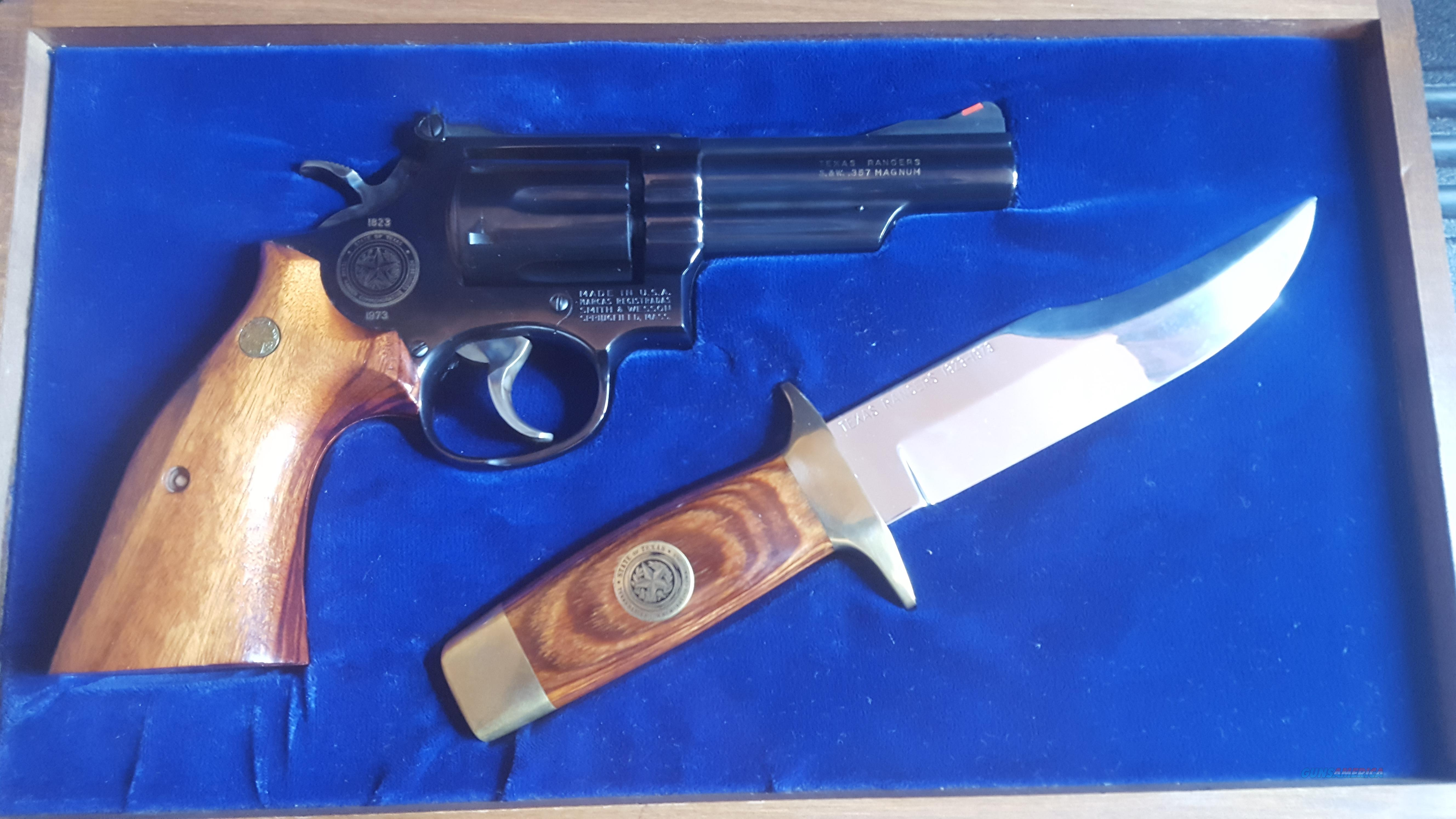 Smith & Wesson Texas Rangers .357 Magnum  Guns > Pistols > Smith & Wesson Revolvers > Full Frame Revolver