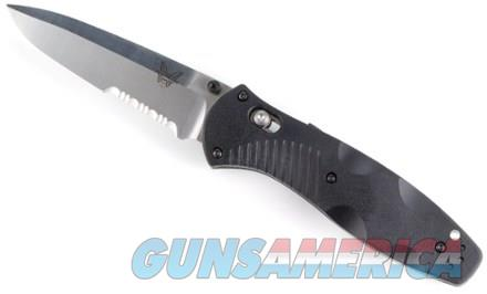 "Benchmade 580 Barrage AXIS-Assisted 3.6"" Satin Plain Blade, Valox Handles  Non-Guns > Knives/Swords > Knives > Folding Blade > Hand Made"