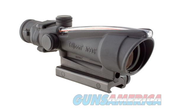 Trijicon ACOG 3.5x35 Scope, Dual Illuminated Red Horseshoe 223 Ballistic Reticle  Non-Guns > Scopes/Mounts/Rings & Optics > Tactical Scopes > Other Head-Up Optics