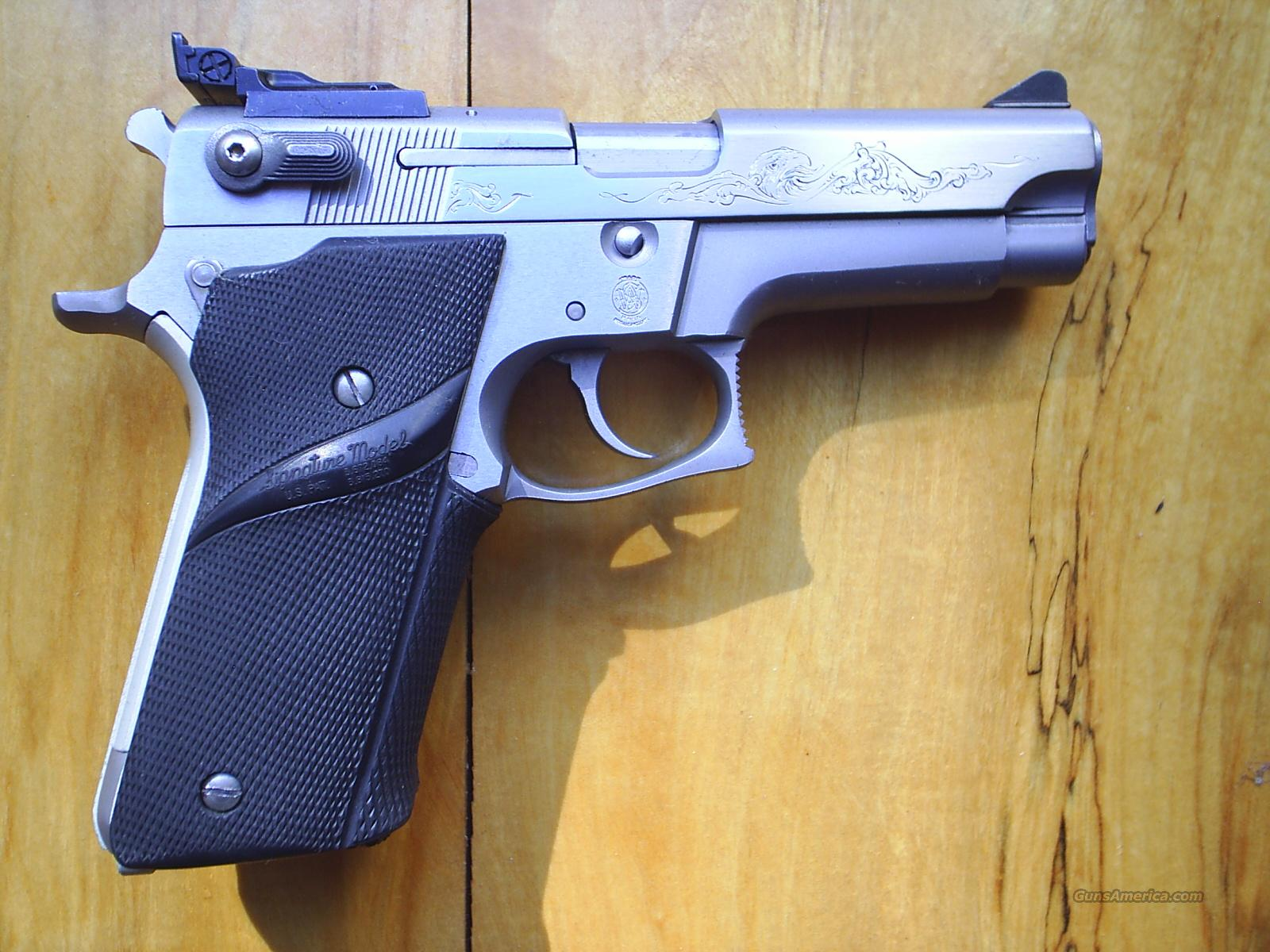 S&W 659  9mm engraved  Guns > Pistols > Smith & Wesson Pistols - Autos > Steel Frame