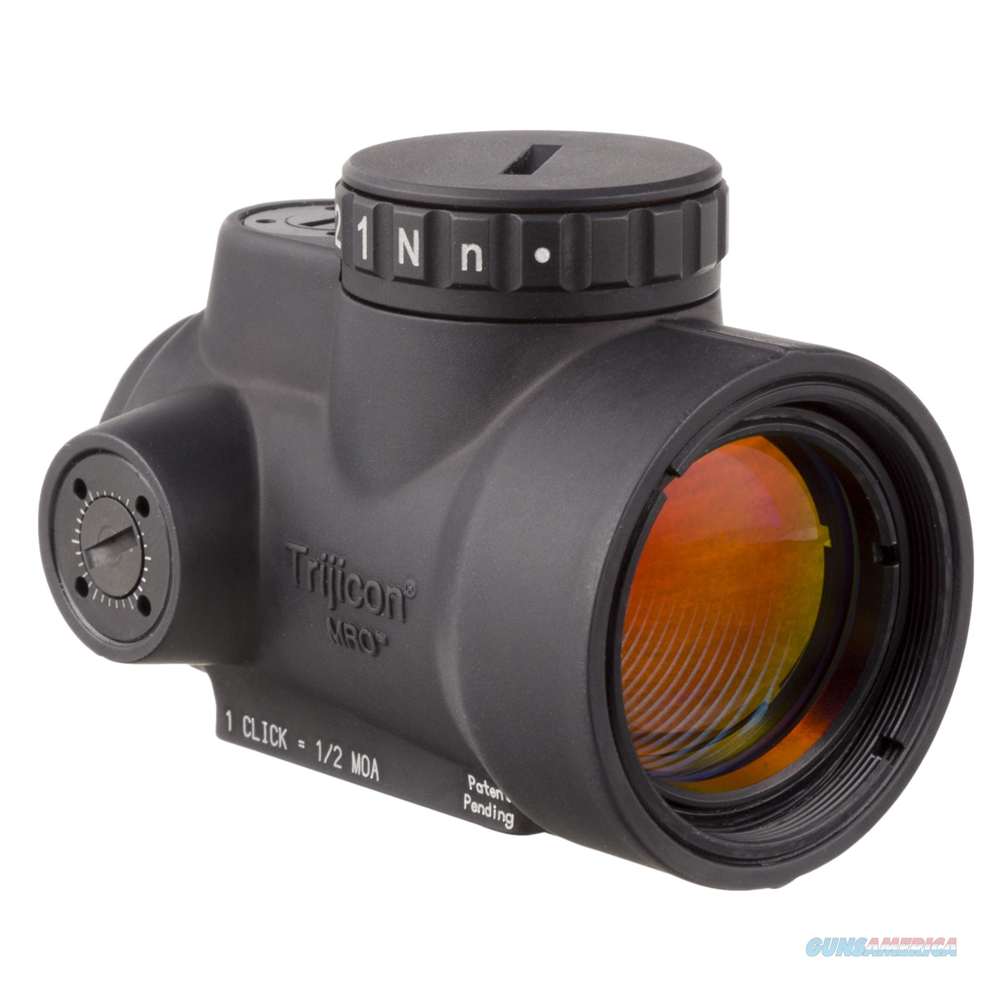TRIJICON MRO 2MOA No Mount 2200003   Non-Guns > Scopes/Mounts/Rings & Optics > Tactical Scopes > Red Dot