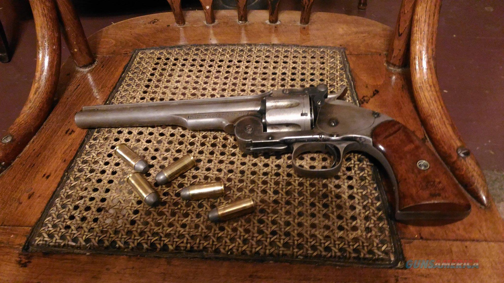 S&W 2nd Model Schofield revolver, Serial No. 5550  Guns > Pistols > Smith & Wesson Revolvers > Pre-1899