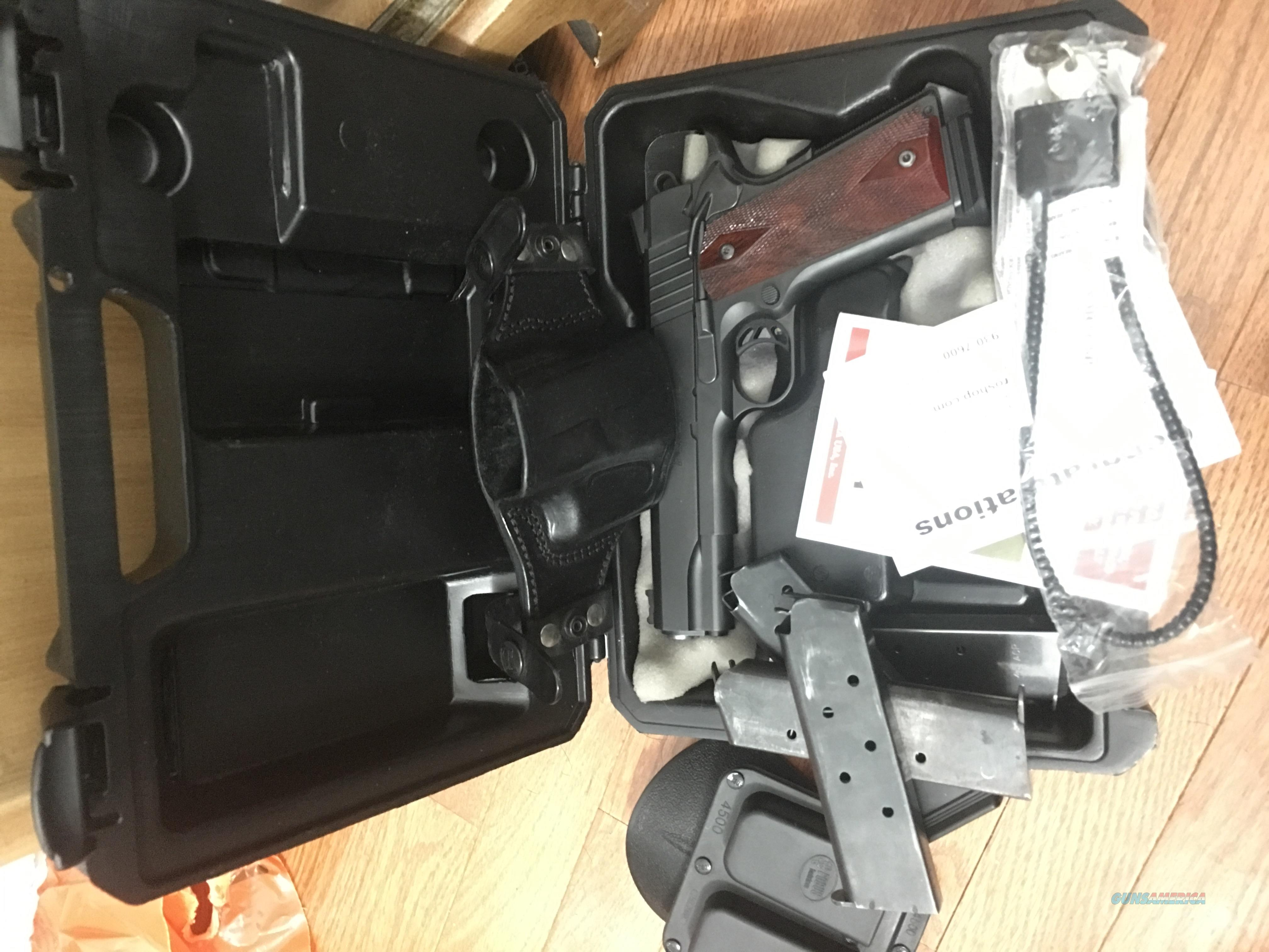 PARA ELITE 1911 PACKAGE *price lowered*AS NEW QUALITY** 5 mags, holster, extras  Guns > Pistols > 1911 Pistol Copies (non-Colt)